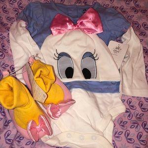 2a14cf6ed504 Daisy Duck Disney onesie with beanie   slippers ...